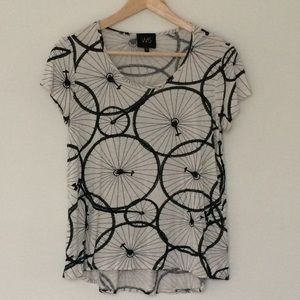 Anthropologie W5 Bicycle Tee